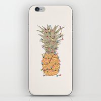 Tropical Lights iPhone & iPod Skin