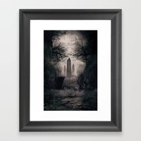 Wicked Season Framed Art Print