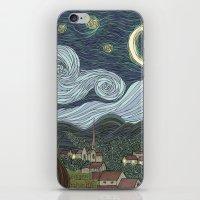 Starry Night iPhone & iPod Skin