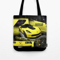 2016 Corvette Tote Bag