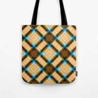 Square Pattern Serie 1 Y… Tote Bag