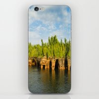 Sea caves #7 iPhone & iPod Skin