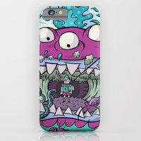 iPhone & iPod Case featuring Pinocchio smoking by Kazze