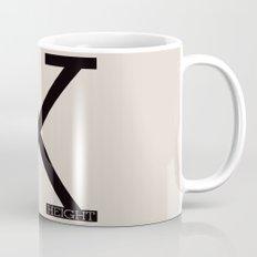 X-Height Mug