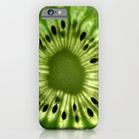 iPhone & iPod Case featuring kiwi by Yes Menu