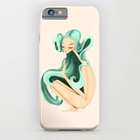 iPhone & iPod Case featuring weird girl by Renia