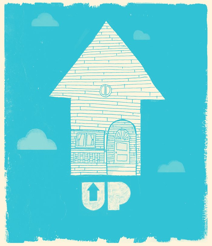 Up Movie Poster UP - Movie Poster Art ...
