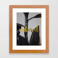 Natural Framed Art Print