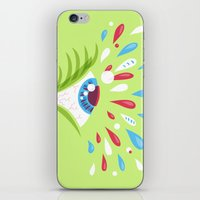 Psychedelic Eye iPhone & iPod Skin