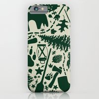 iPhone Cases featuring C@MP by Dylan Morang