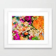 POP-Sparkles Framed Art Print