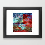 Framed Art Print featuring Abstract Fantasy 9898 by Lo Coco Agostino