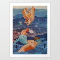 Non-Euclidean Adventures… Art Print