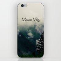 Dream Big II iPhone & iPod Skin