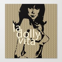 La Dolly Vita Canvas Print