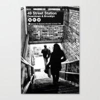 49th Street Station Canvas Print