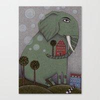It's an Elephant! Canvas Print
