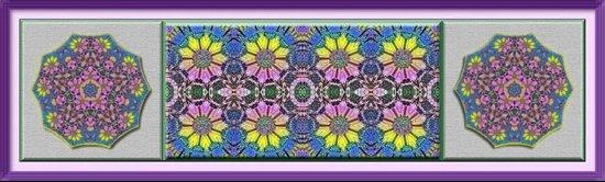Daffodil Garden Art Print