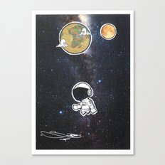 We The Explorers Canvas Print