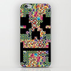 The Black smiles iPhone & iPod Skin