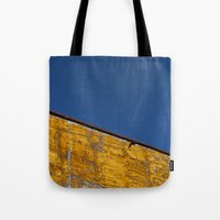 yellow-blue Tote Bag