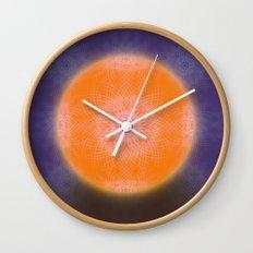 Digifloral Wall Clock