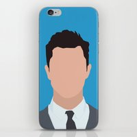 Joseph Gordon-Levitt Portrait  iPhone & iPod Skin