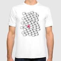 Borregueando!  Mens Fitted Tee White SMALL