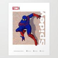 SPIDEY Art Print