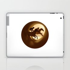 Horse racing (Courses hippiques) Laptop & iPad Skin