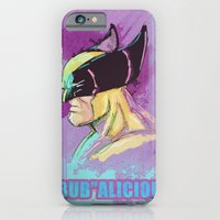 iPhone & iPod Case featuring BUBalicious Wolverine by Dave Franciosa