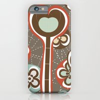 iPhone & iPod Case featuring Allover Pattern IV by Ted and Rose Design
