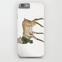 deer iPhone & iPod Cases featuring Deer by David Fleck