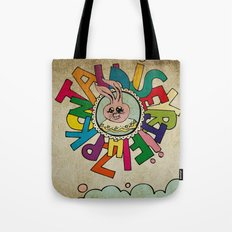 Bunny Obsession Again! Tote Bag