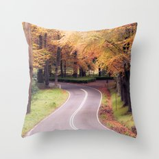 You never know. Throw Pillow