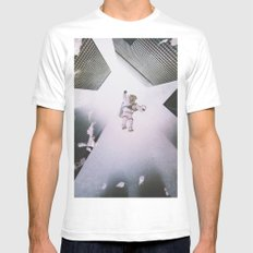 Gravitate Mens Fitted Tee White SMALL