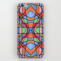 mexican stained glass iPhone & iPod Skin