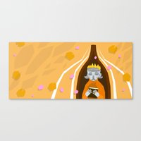 Chaos and Grace  Canvas Print