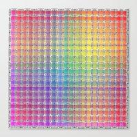 Rainbow Colours Canvas Print