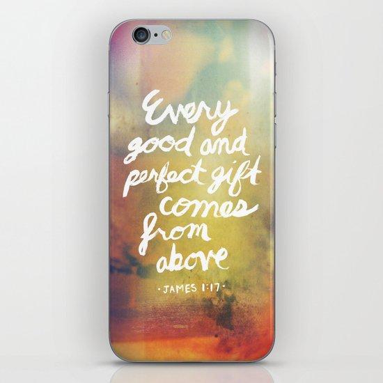James 1:17 iPhone & iPod Skin