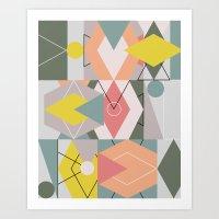 Graphic 145 Art Print