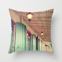 Throw Open the Shutters Throw Pillow