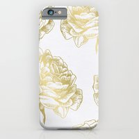 iPhone & iPod Case featuring Roses Gold by Caitlin Workman