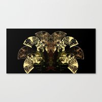 Insecte Eventail  Canvas Print