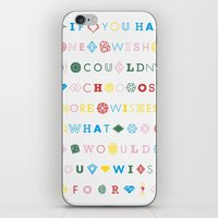 One Wish iPhone & iPod Skin