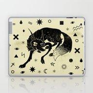 Laptop & iPad Skin featuring Wolf by Anna Volkova