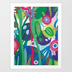Secret garden I  Art Print
