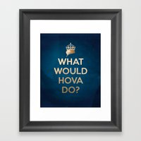 What Would Hova Do? - Ja… Framed Art Print