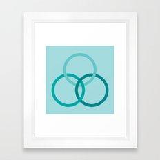 THE BOUND Framed Art Print