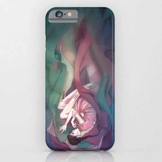 Swathed in silk iPhone & iPod Case